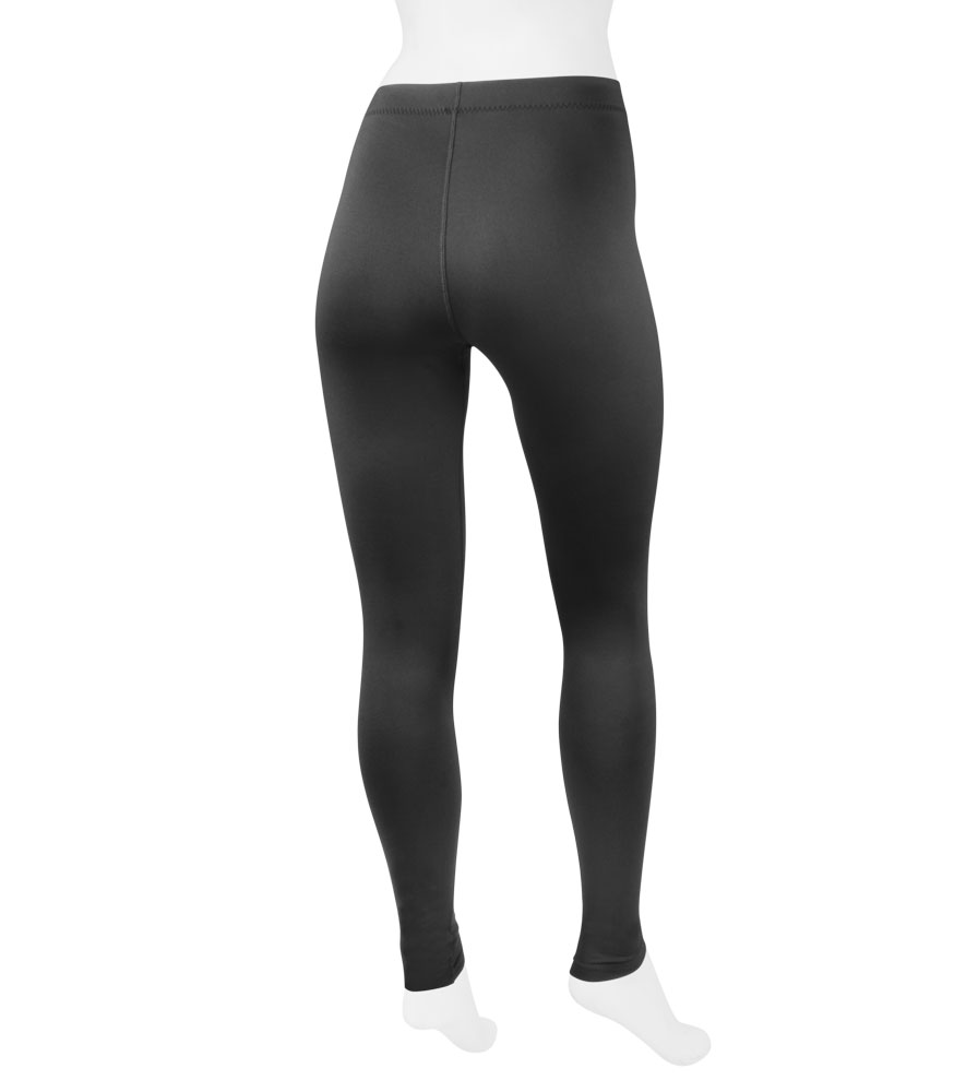 ... aero tech womenu0027s stretch fleece legging tights - made in usa ... ZYHANMR