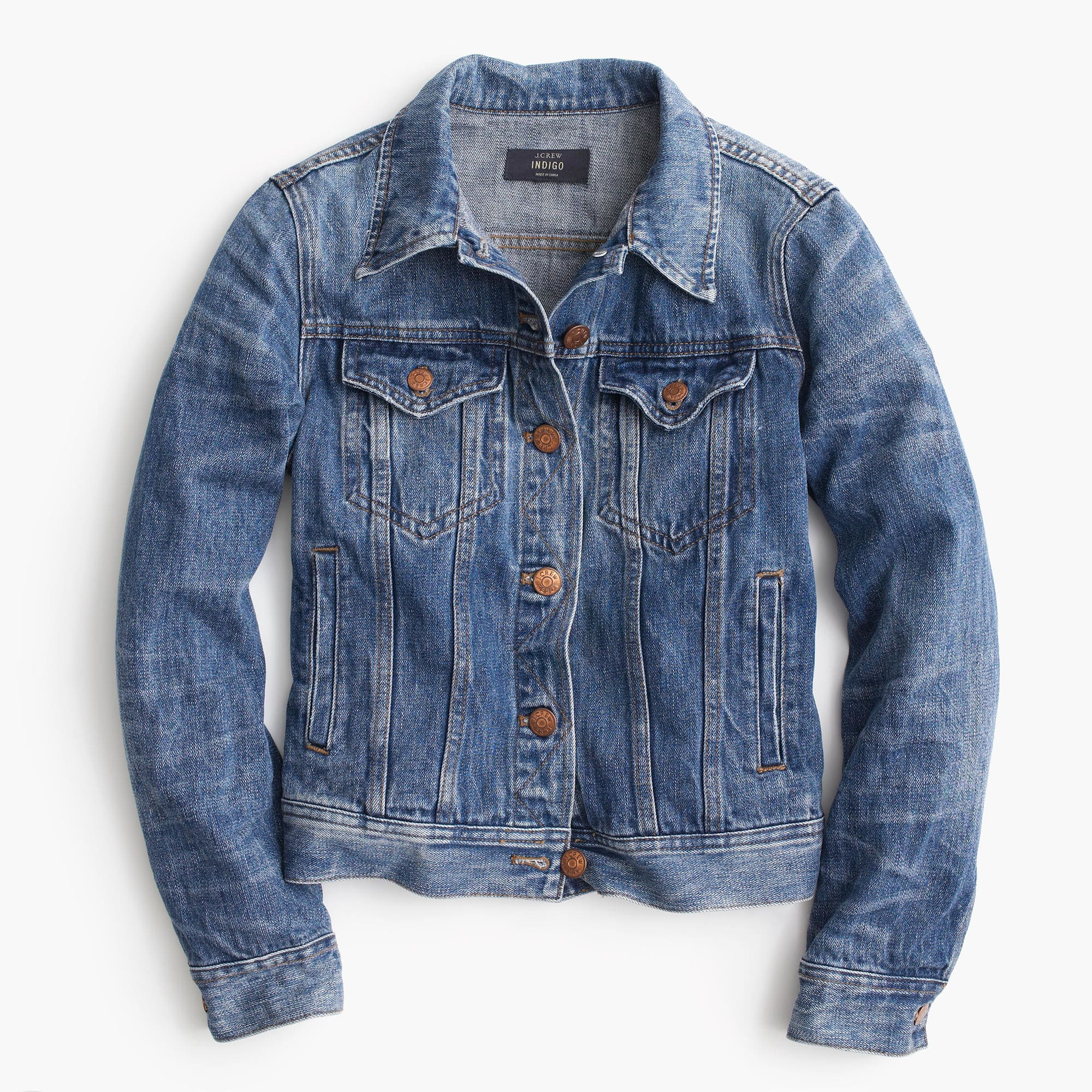 ... classic denim jacket; classic denim jacket PKUJZXV