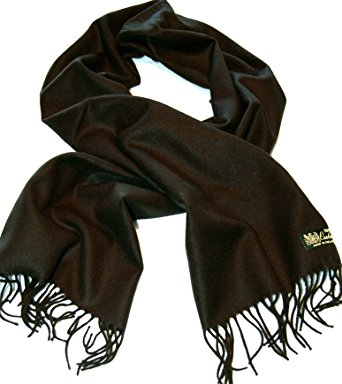 100%cashmere scarf--80 rich colors! super soft (black) XHCLEZK