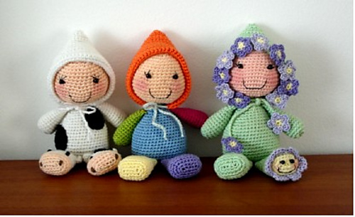 15 free #crochet doll patterns - on moogly! CCVWYEM