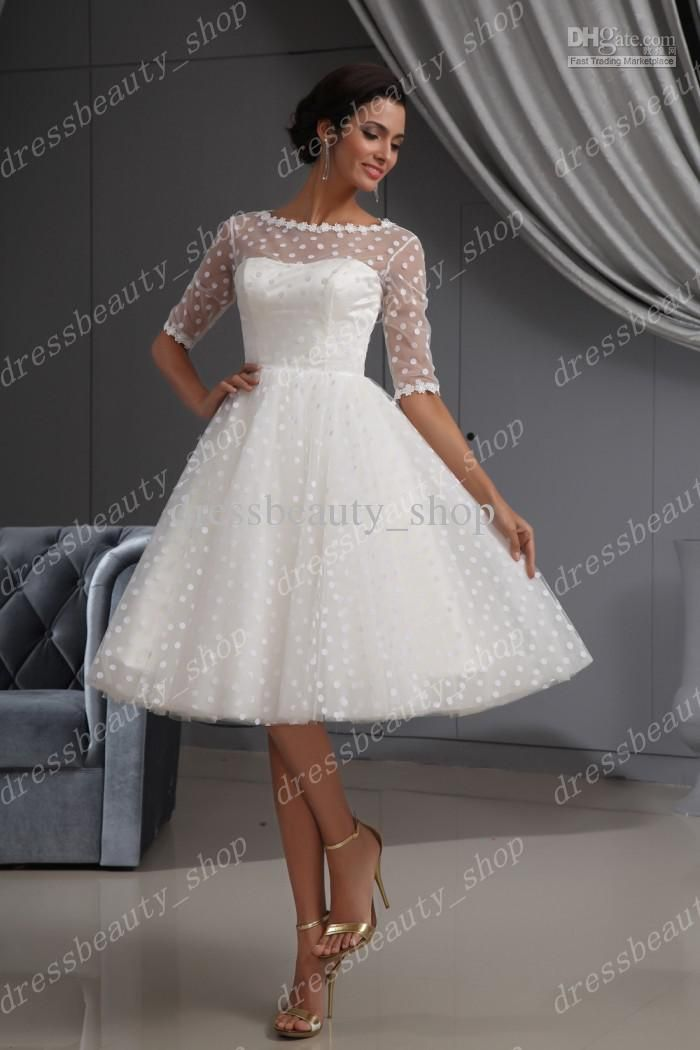 Types of knee length wedding dresses – fashionarrow.com