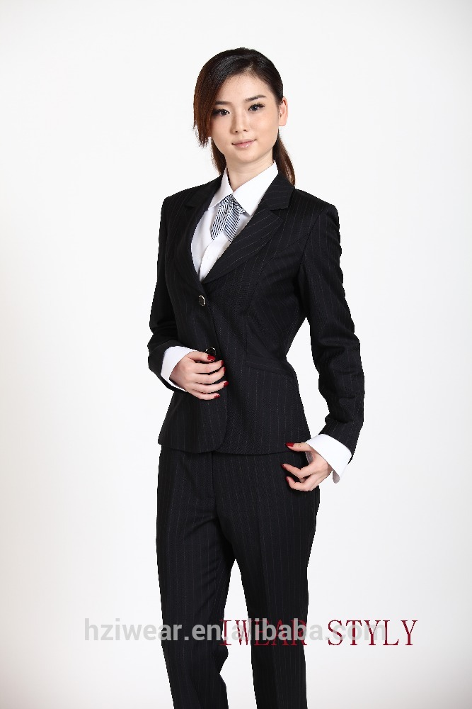 2pcs business suits for women / ladies suits jaketu0026 pants - buy women  business MRVRNFQ