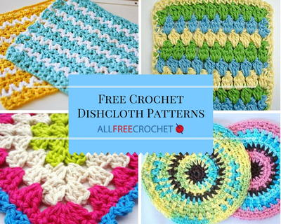 51 free crochet dishcloth patterns MXQQVIO