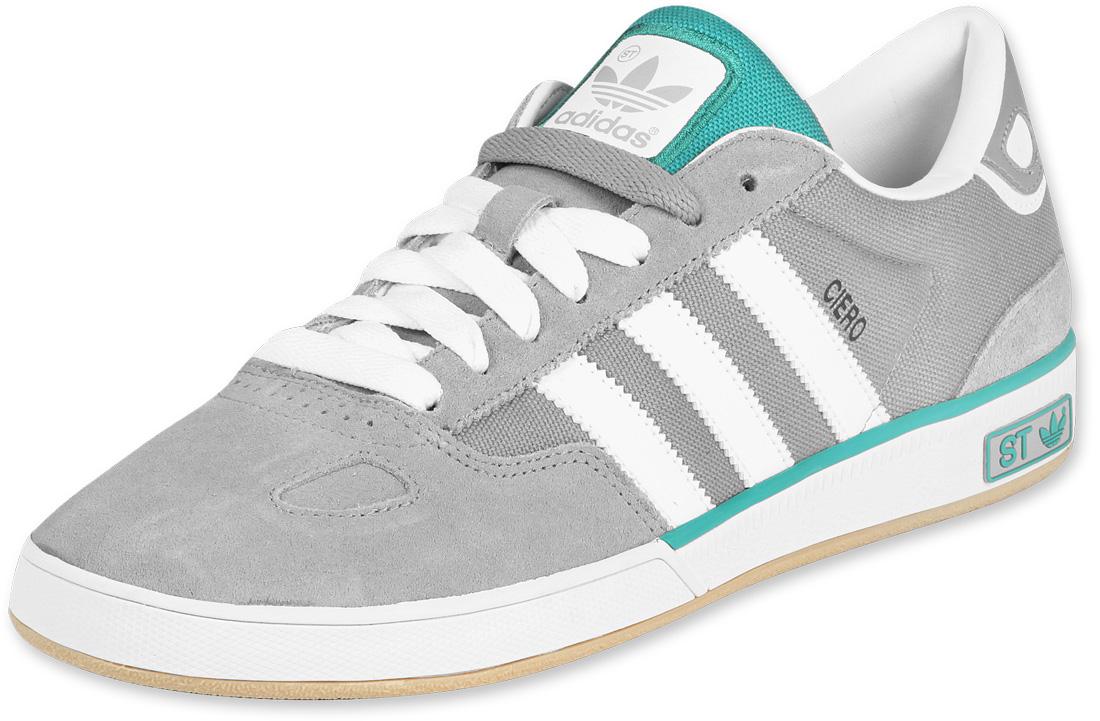 adidas adidas ciero st shoes grey white green MZSDGYC