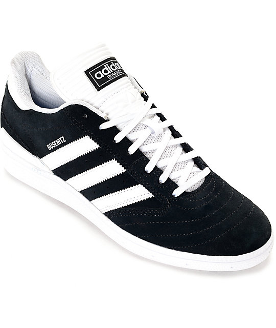 Adidas Busenitz adidas busenitz black u0026 white suede shoes ROKKBCZ