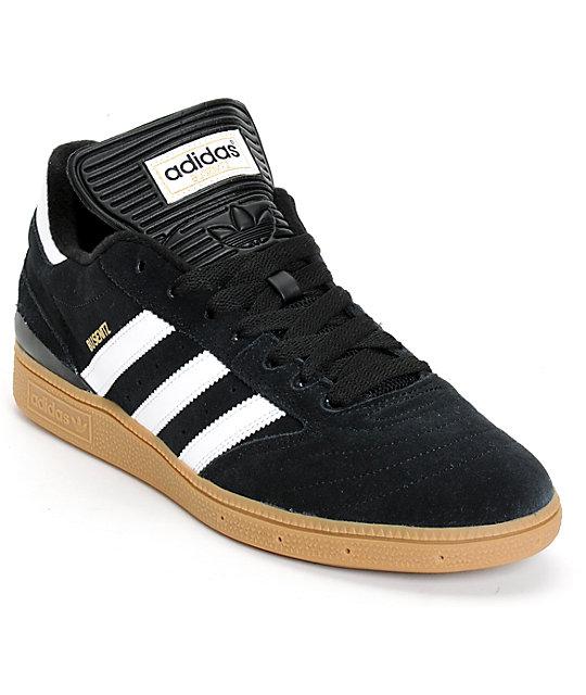 Adidas Busenitz adidas busenitz pro black, white, u0026 gum shoes CPORXOU