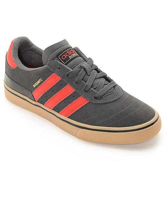 Adidas Busenitz adidas busenitz vulc grey, red, u0026 gum shoes HYKNEAH