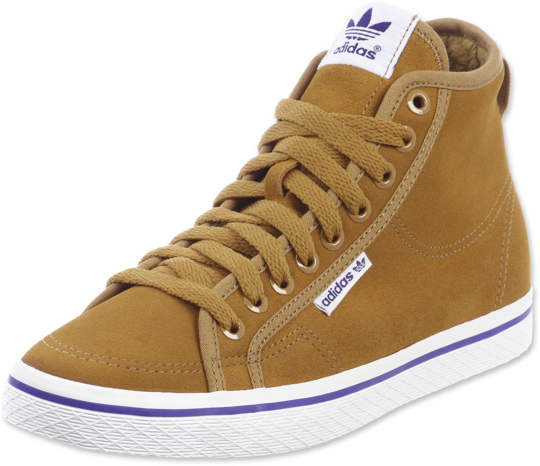 adidas honey mid w shoes beige purple HPPSCAS