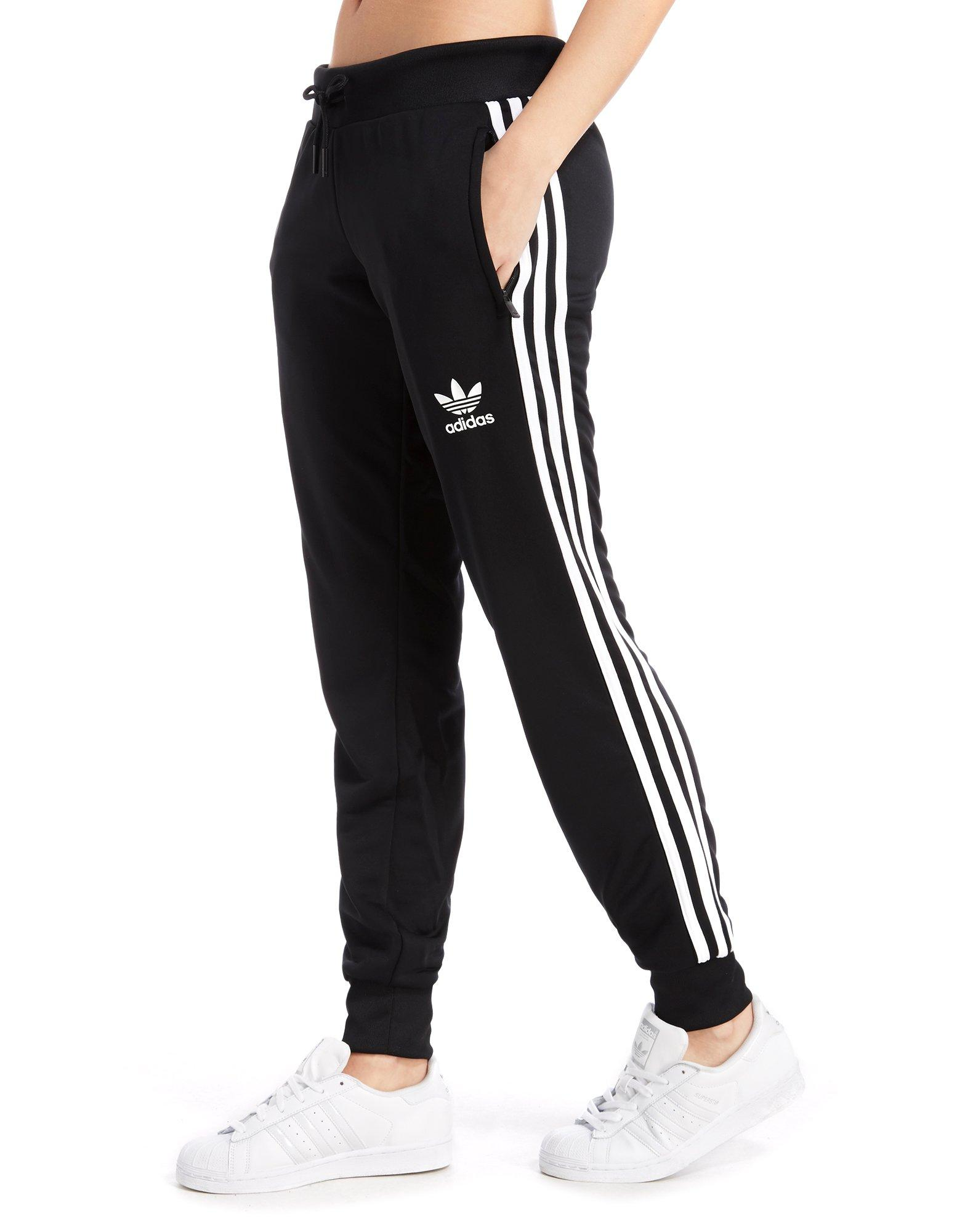 adidas joggers adidas originals poly 3-stripes pants | jd sports JPECOSW