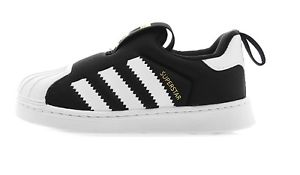 adidas kids shoes image is loading new-adidas-toddler-shoes-superstar-360-i-s82711- AQLPKDK