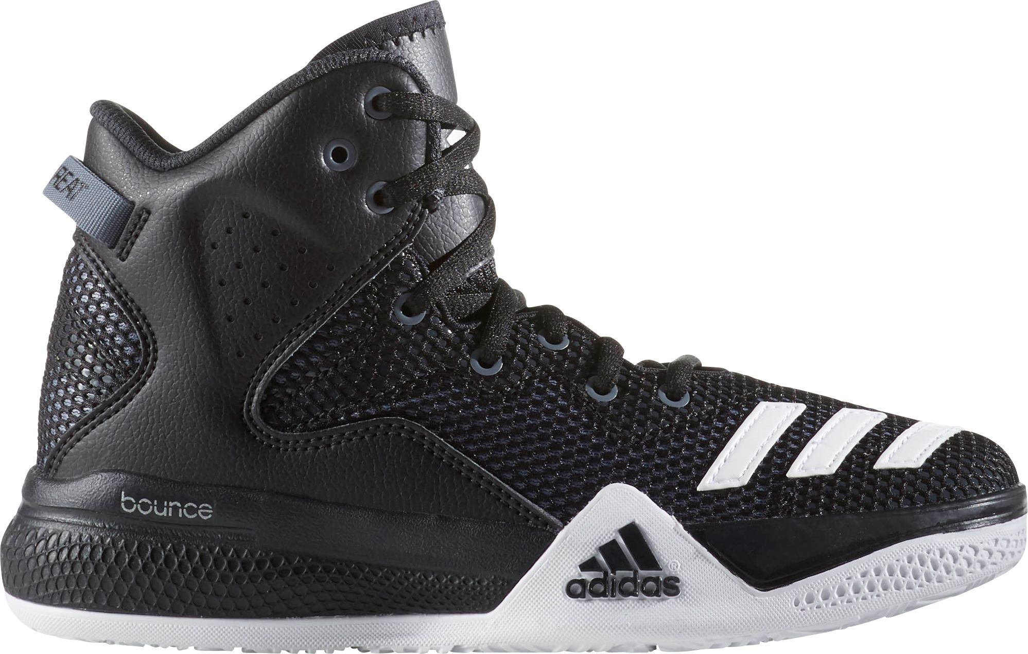 adidas menu0027s dual threat basketball shoes TXILTFQ