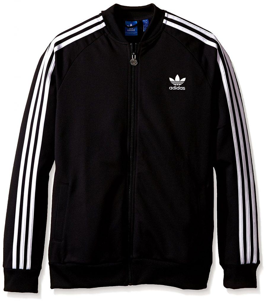 adidas originals jacket amazon.com: adidas originals boysu0027 superstar track top: clothing CWUIGZK