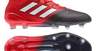 adidas soccer boots adidas ace 17.1 primeknit fg soccer cleats (red/white/black) XBGYYLG