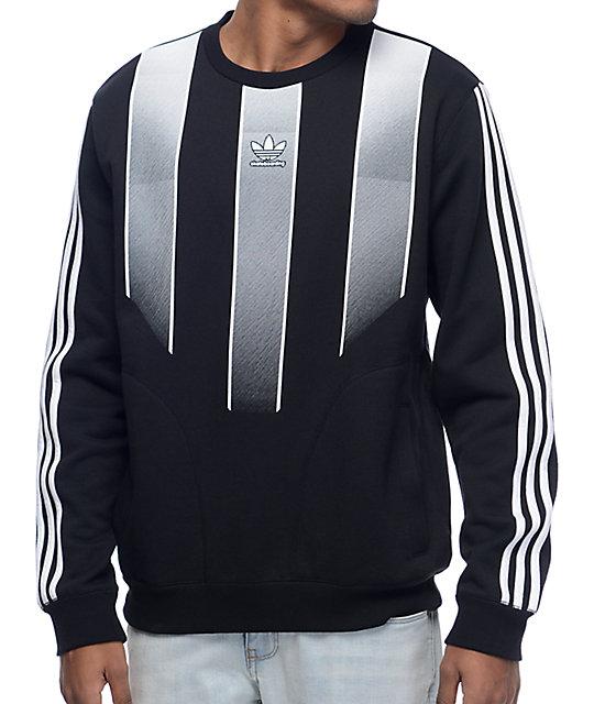adidas sweatshirt adidas eqt black crew neck sweatshirt SIRAOXF