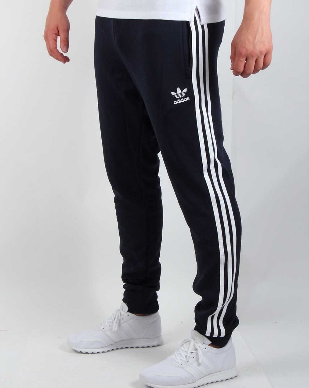 Adidas Tracksuit Bottoms adidas originals superstar cuffed track bottoms navy blue GPOYKUL