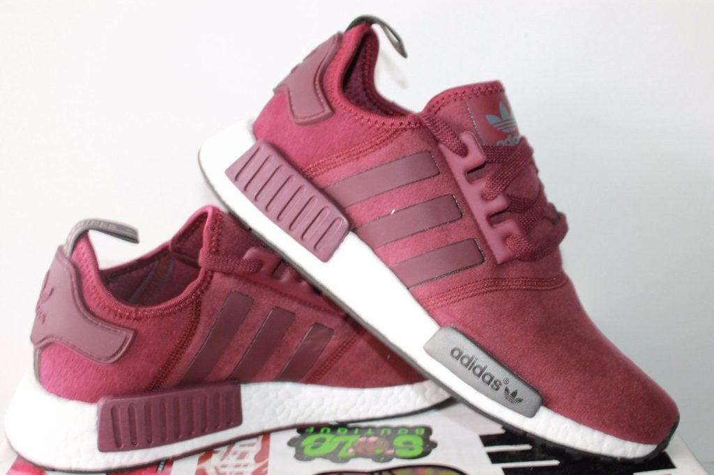 adidas womens shoes adidas womens nmd r1 nomad runner burgundy red new shoes size 8 GCJAKXP