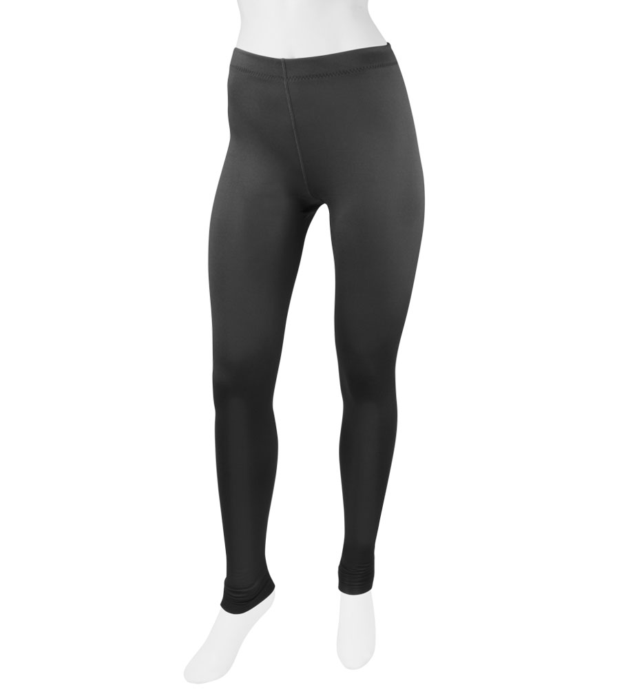 aero tech womenu0027s stretch fleece legging tights - made in usa ... PFCWJLV