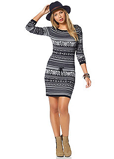 ajc knitted dress KOWGHQB