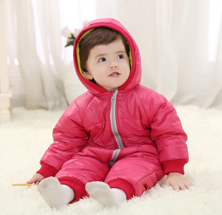 aliexpress.com : buy 9 24months baby winter clothes girl boy romper warm  russian baby HJSXHJQ