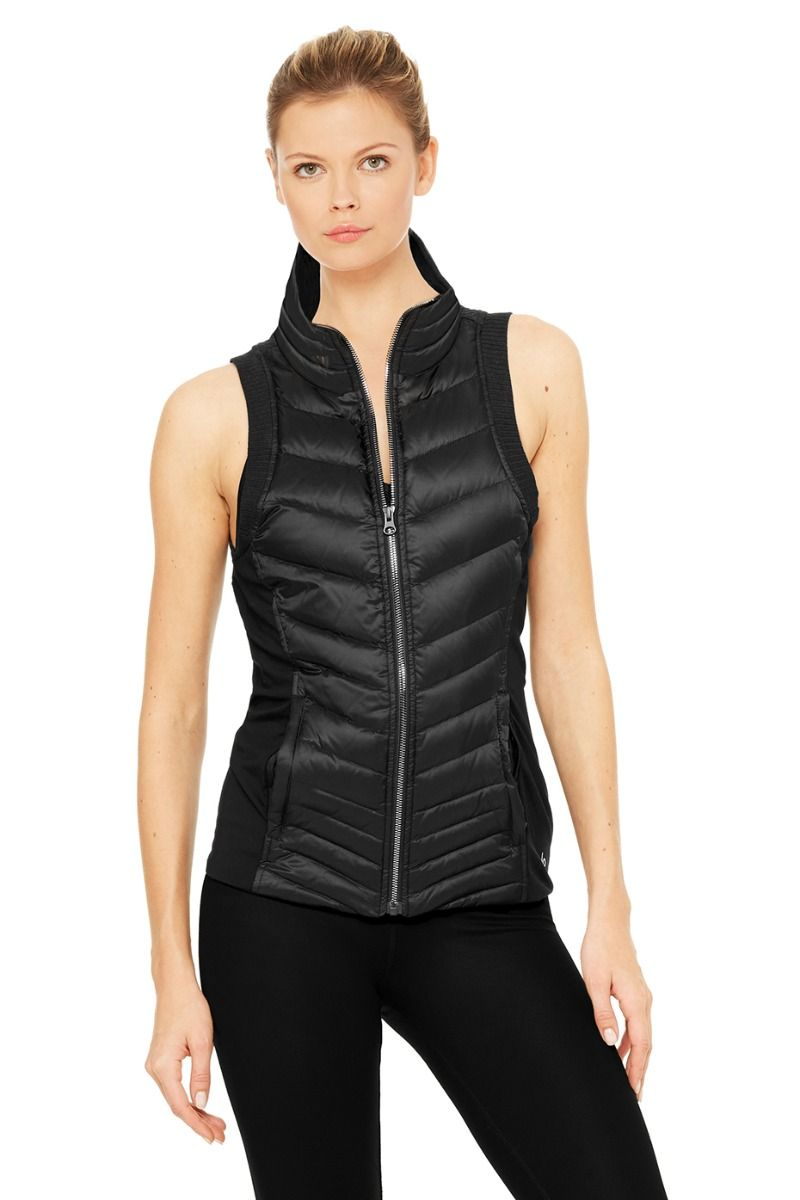 Warmth and style with puffer vest