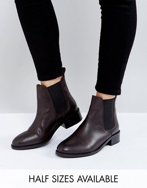 ankle boot asos absolute leather chelsea ankle boots NOBEYNW