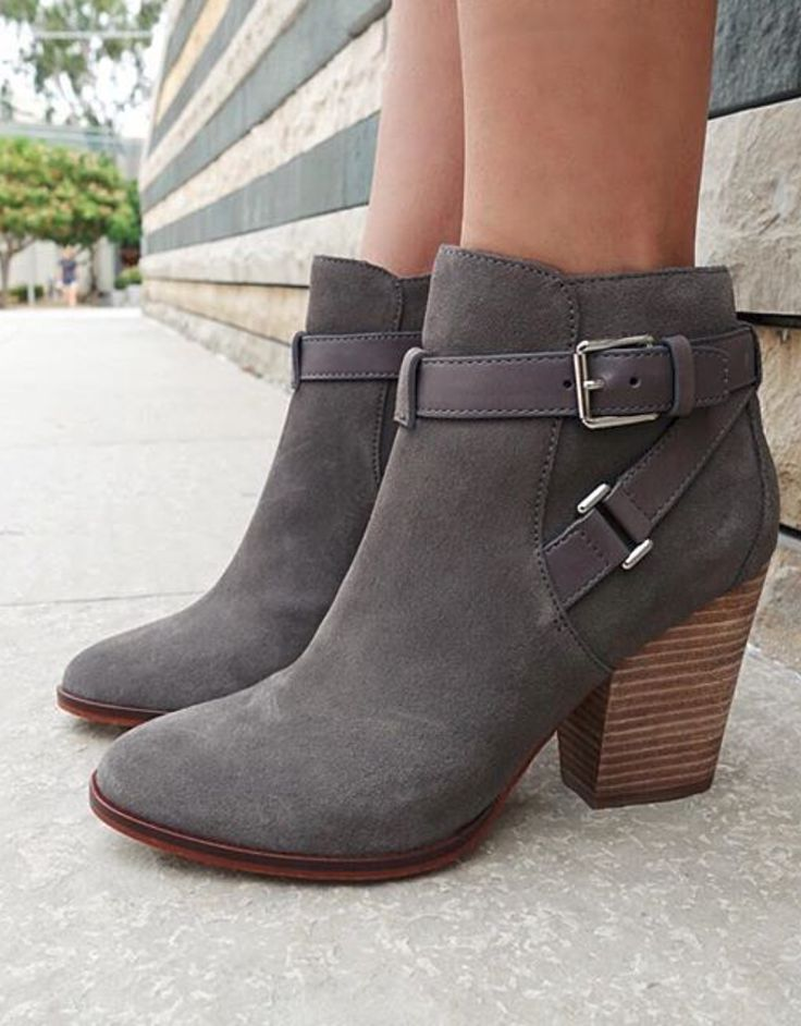 ankle boot grey ankle booties LJTFWPX