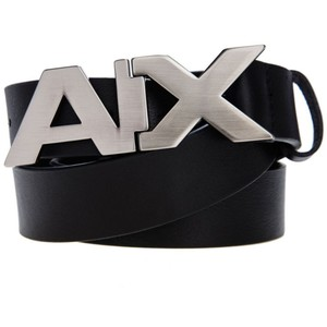 armani belt armani exchange leather belts ... AEVUIQG