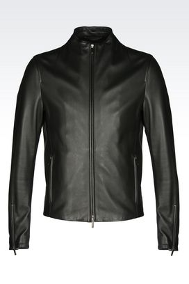 armani jackets armani light leather jackets men leatherwear MXZHNEI