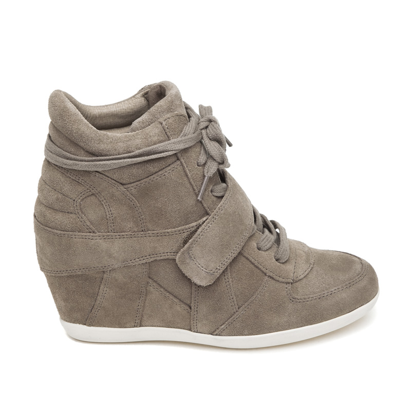 ash bowie cocco suede wedge sneaker GYQNQXX