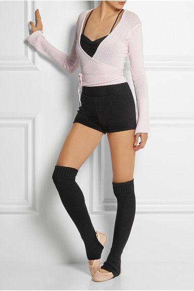 What do ballerinas wear on stage?