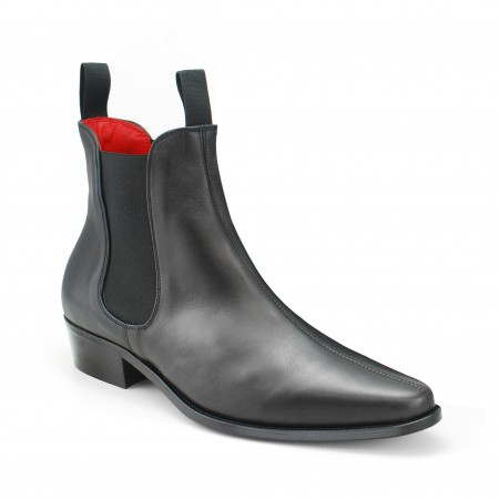 beatle boots classic boot - black calf leather EWSKYPJ