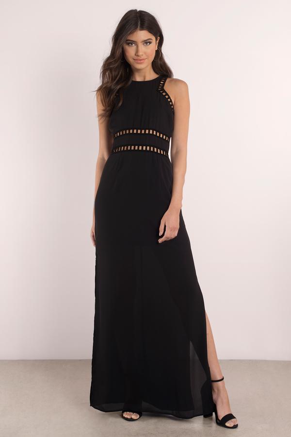black and white maxi dress margot black maxi dress YCBJTZB
