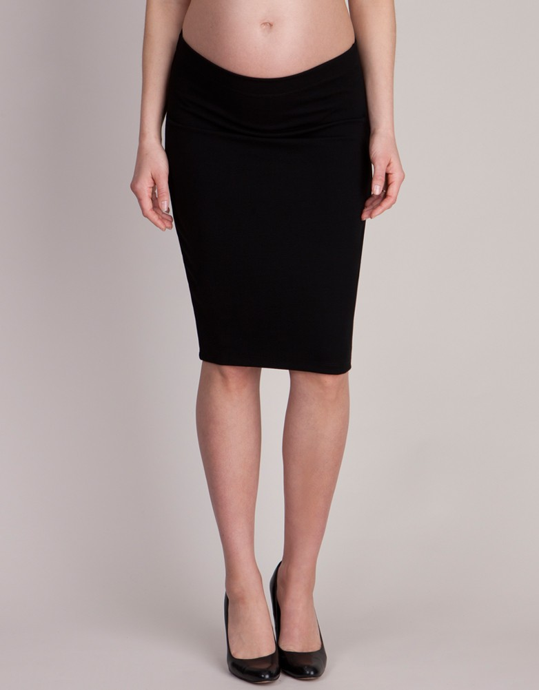 black bodycon skirt black bodycon maternity skirt JEYGZCU