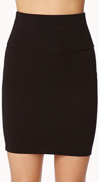 black bodycon skirt JBRBYWF