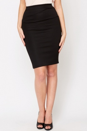 black bodycon skirt NEZRSRX