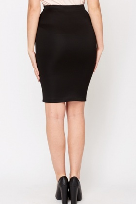 black bodycon skirt YLVNVVO
