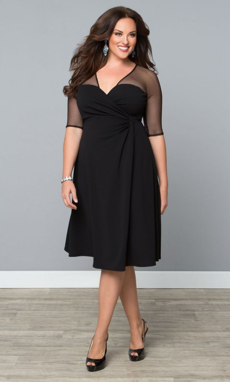 Black Dress Plus Size Best 25 Dresses Ideas On Pinterest