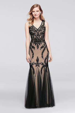 black evening dresses cachet BLEXIKA