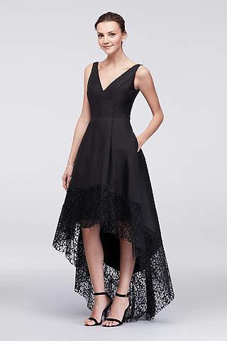 black evening dresses u0026 gowns: short u0026 long | davidu0027s bridal OSNSJRT