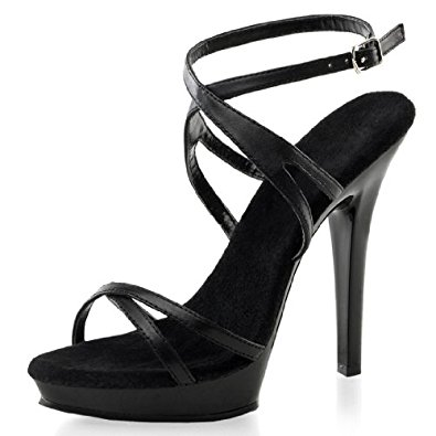 black strappy heels sexy black strappy sandals with soft black leather and 5 inch heels MHYUGYD