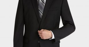 black suits calvin klein black slim fit suit - menu0027s slim fit | menu0027s wearhouse MAXEBBJ