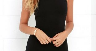 body con dress essential spice black bodycon dress 1 ZAFSJGH