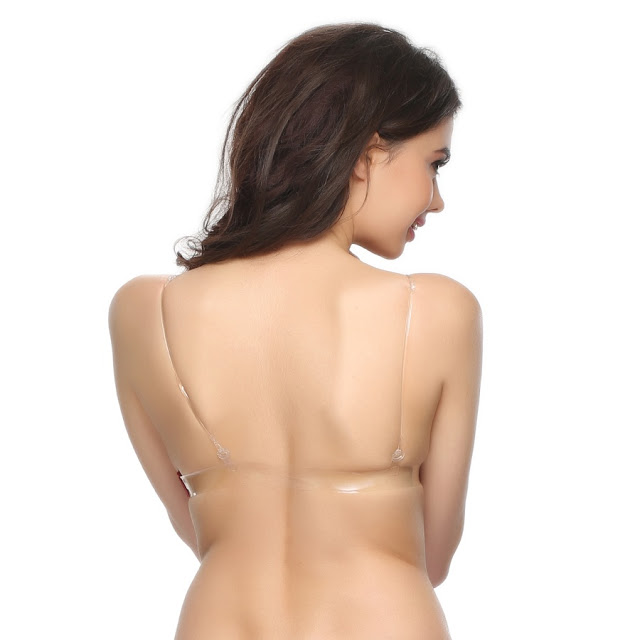 The bare back and the backless bra