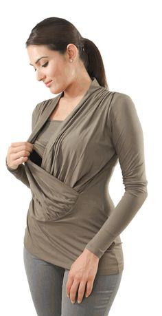 breastfeeding tops find stylish nursing tops @ modmommaternity.com WANDFWZ