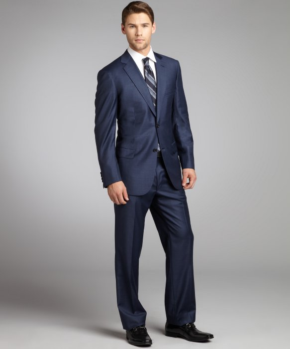 Wear brioni suits for handmade suits fitting