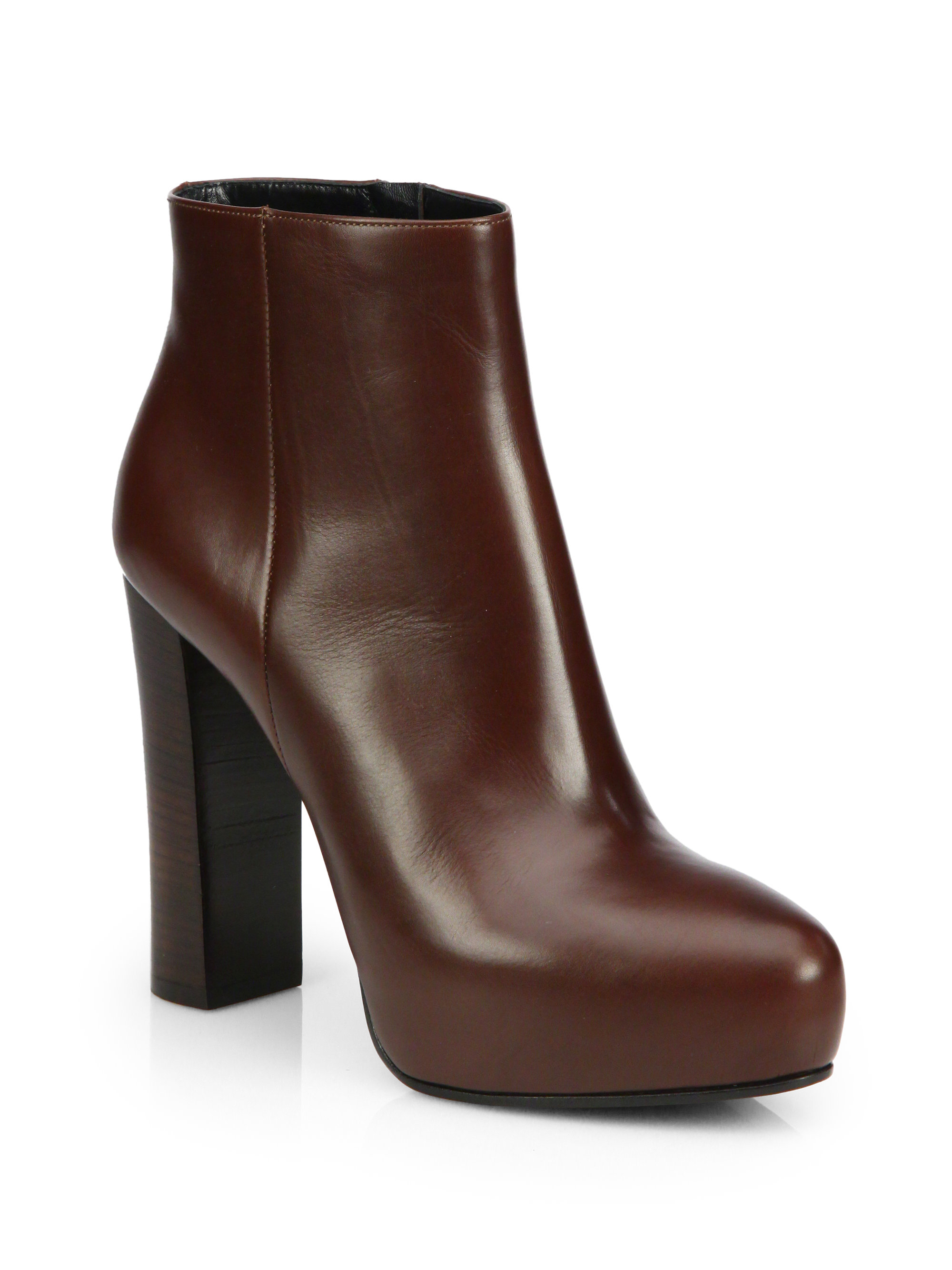 brown ankle boots gallery XECELKQ