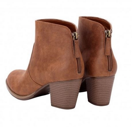 brown ankle boots monogrammed ankle boots HXRDCVP