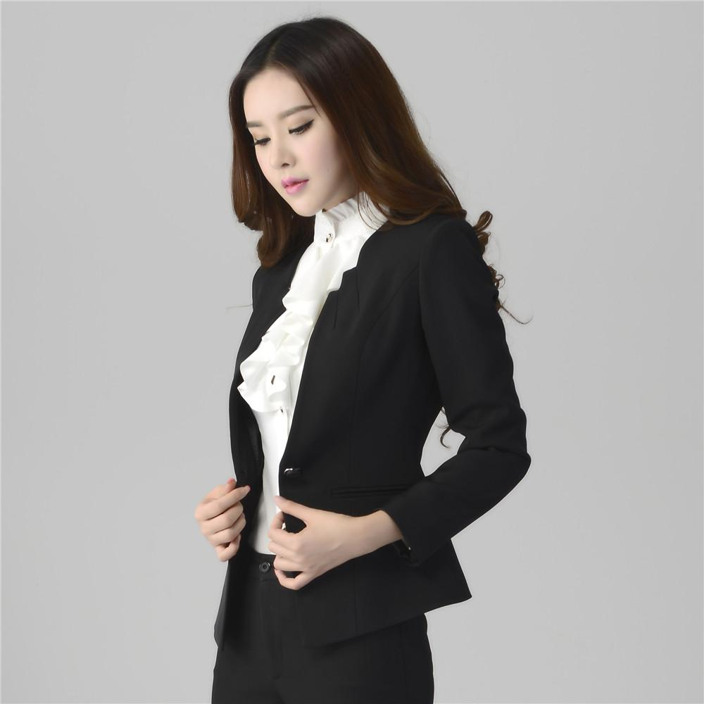 business suits for women 2016 womenu0027s business suits,formal office pant suits,female work wear  sets,one button uniform designs blazer XOPORZD