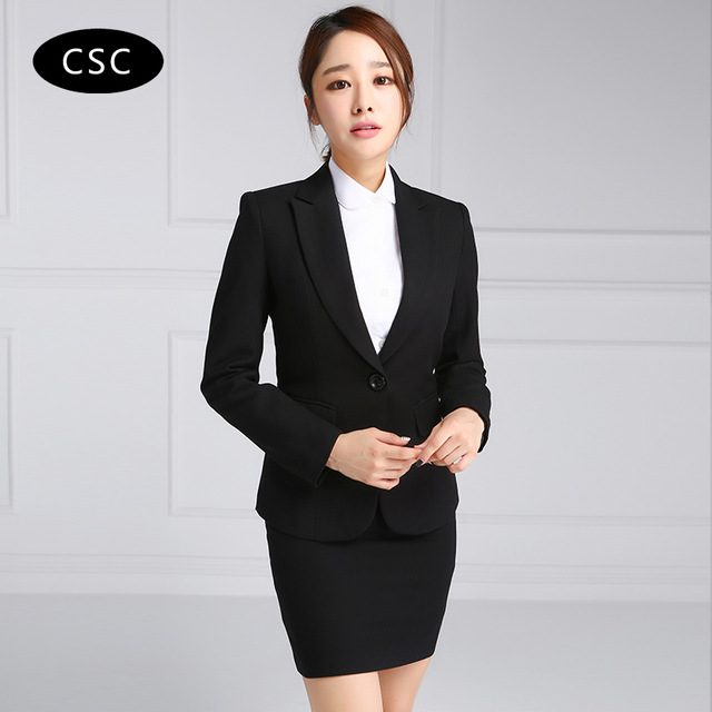 business suits for women women skirt suit woman formal business suit for women office uniform  designs women two BMNQSHR