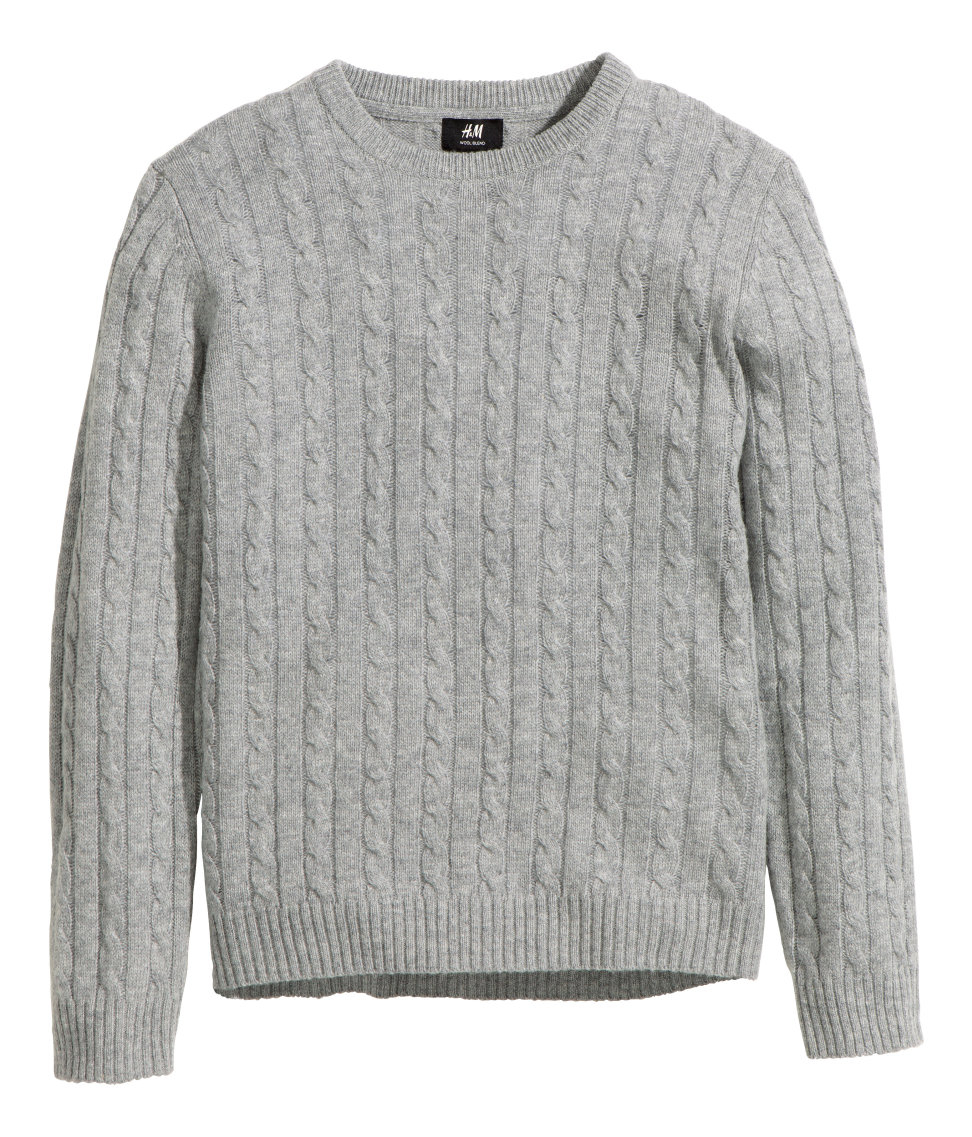 cable knit jumper gallery EWUHJMV